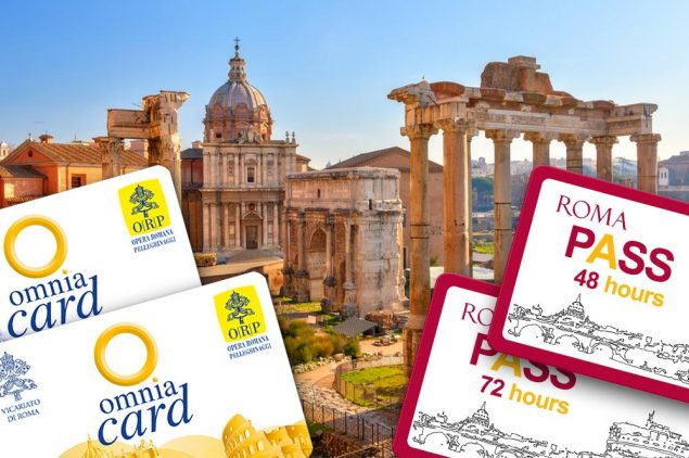 ickets: touristic subscriptions for the city of Rome