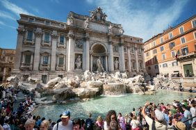 Trevi fountain: History and Architecture