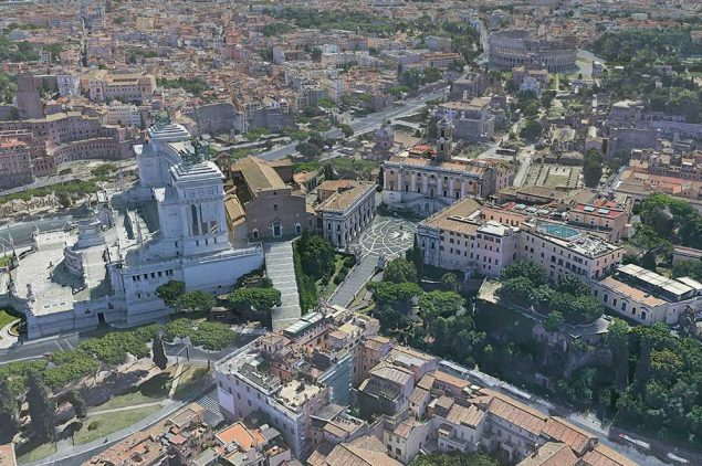 Capitoline Hill (Campidoglio). History, from the origins to today