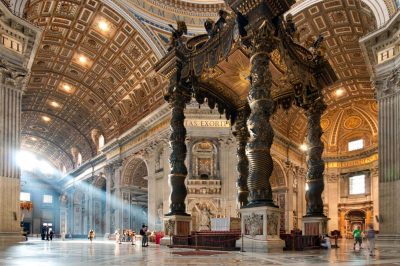 Guided tour of St. Peter's Basilica in the Vatican