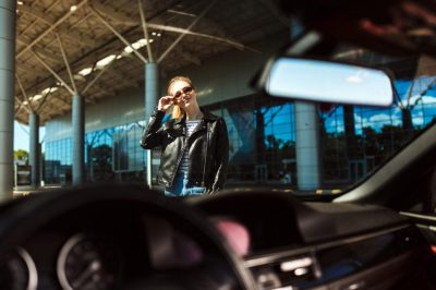 Limo car rental with driver Rome Ciampino airport